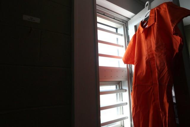 Les détenus de la prison ont commencé à... (Photo La Presse Canadienne)
