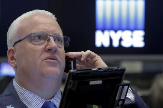 Wall Street a repris de l'allant hier pour finir en hausse une séance... (PHOTO BRENDAN MCDERMID, REUTERS)