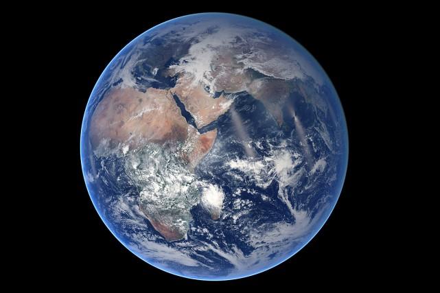 Les trois exoplanètes «potentiellement habitables» sont de taillesimilaire... (PHOTO ARCHIVES NASA)