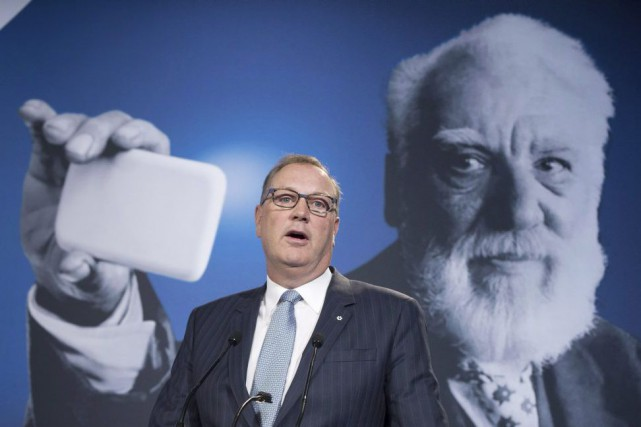 George Cope, PDG de BCE... (Photo Paul Chiasson, La Presse Canadienne)