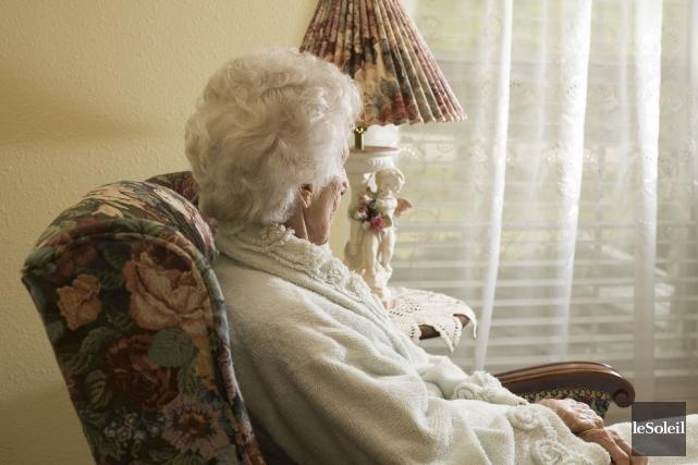 L'octogénaire est atteinte d'Alzheimer. Elle a quand même... (Photothèque Le Soleil)