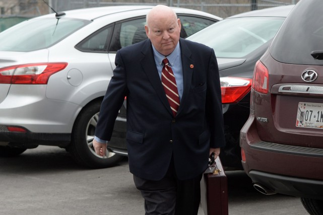 Mike Duffy... (Photo PC)