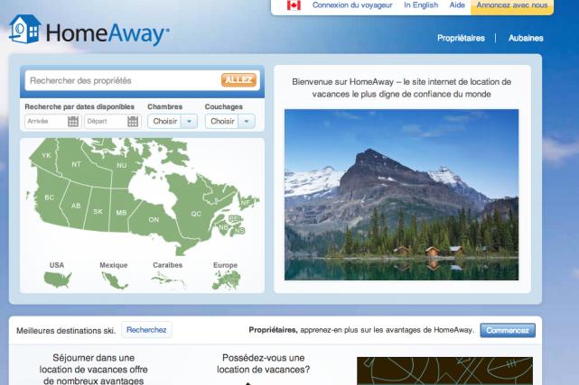 Les sites Abritel et Homelidays du groupe HomeAway se sont engagés à collecter... (CAPTURE D'ÉCRAN)