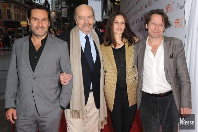 Le réalisateurJean-Paul Rappeneau a participé au festival international... (Archives AP)
