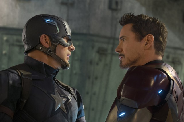 Captain America:Civil War... (PHOTO FOURNIE PAR MARVEL)