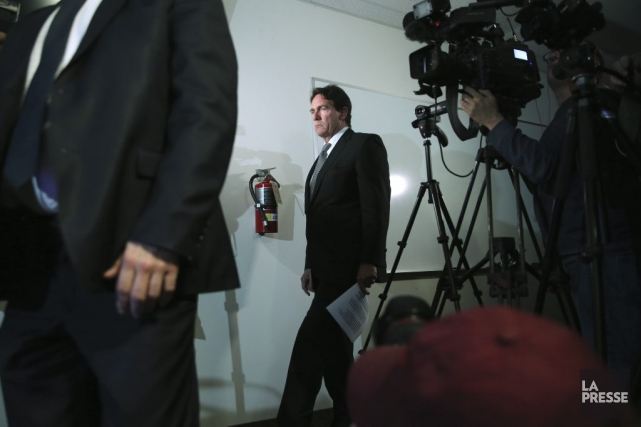 Pierre Karl Péladeau... (Photo Martin Chamberland, La Presse)