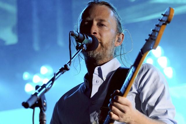 Lechanteur Thom Yorke du groupe Radiohead... (AFP, Sylvain Thomas)