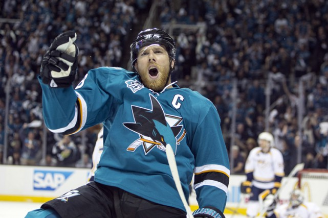 Joe Pavelski... (PHOTO ARCHIVES REUTERS)