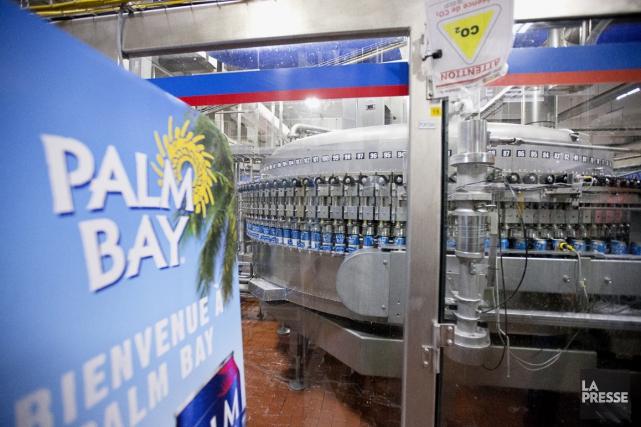 Le brasseur produira des boissons aromatisées à base... (Photo Alain Roberge, La Presse)