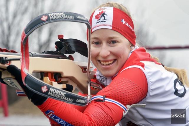 Insatisfaite de ses résultats, Audrey Vaillancourt préfère accrocher... (Photothèque Le Soleil, Jean-Marie Villeneuve)