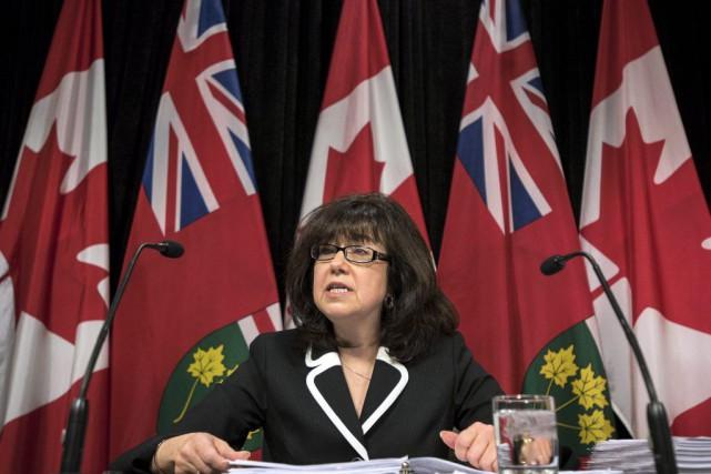 La vérificatrice générale de l'Ontario, Bonnie Lysyk... (Darren Calabrese, PC)