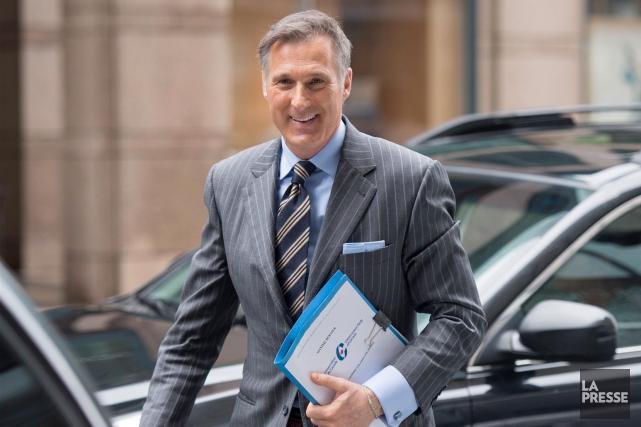 Le candidat à la chefferie du Parti conservateur,... (Justin Tang, Archives La Presse Canadienne)