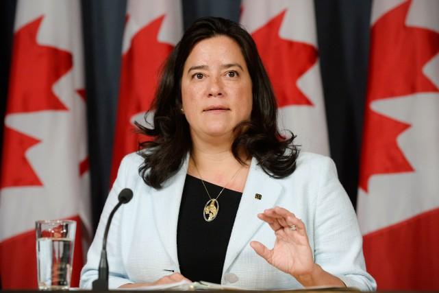 Selon Jody Wilson-Raybould, ministre fédérale de la Justice,... (Adrian Wyld, La Presse Canadienne)