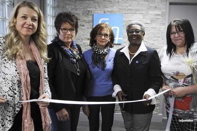 La présidente du Syndicat des professionnelles en soins... (Photo Le Quotidien, Mariane L. St-Gelais)