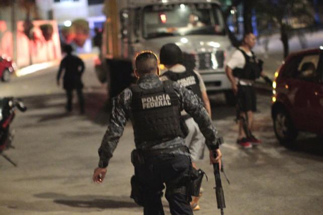 Deux têtes coupées ont été découvertes au cours du week-end dans la ville de... (PHOTO AFP)