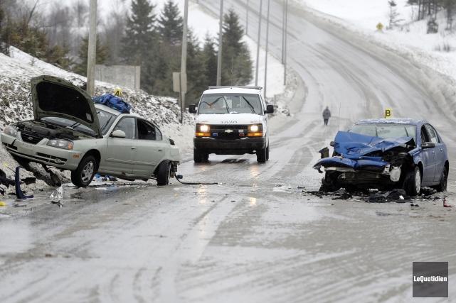 Des accidents mortels sont survenus dans la dernière... (Archives Le Quotidien)