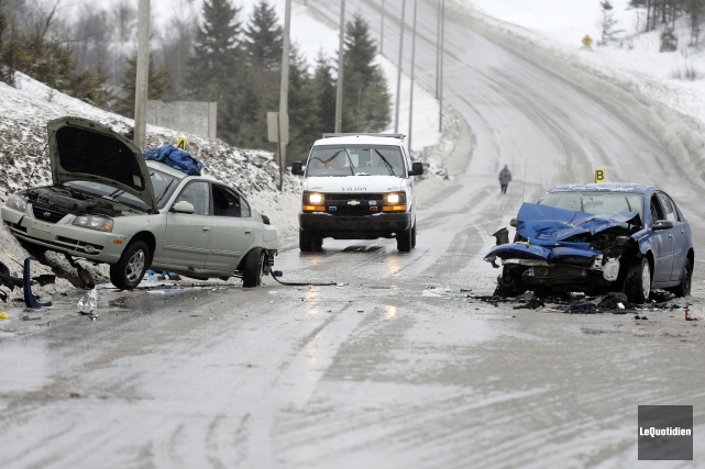 Des accidents mortels sont survenus dans les derniers... (Archives Le Quotidien)