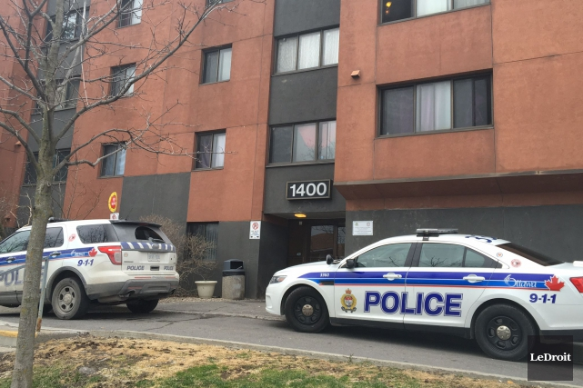 Le 1400, rue Lepage estun immeuble à logements... (Patrick Woodbury, LeDroit)