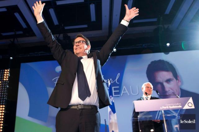 Pierre Karl Péladeauavait été élu chef du PQ... (Photothèque Le Soleil)