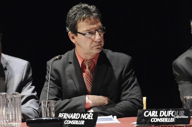 Le conseiller municipal Bernard Noël... (Photo Le Quotidien, Mariane L. St-Gelais)