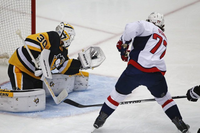 La recrue Matt Murray a frustré plus d'un... (Gene J. Puskar, Associated Press)