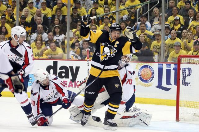 Les Penguins de Pittsburgh ont signé une importante victoire lors du troisième... (PHOTO REUTERS)