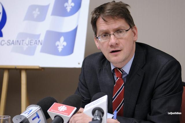 Le député péquiste Sylvain Gaudreault... (Archives Le Quotidien)