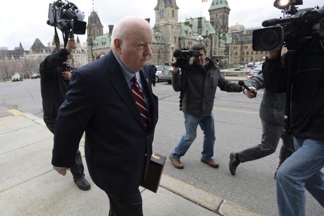Le sénateur Mike Duffy a été aperçu sur... (Archives La Presse Canadienne, Sean Kilpatrick)