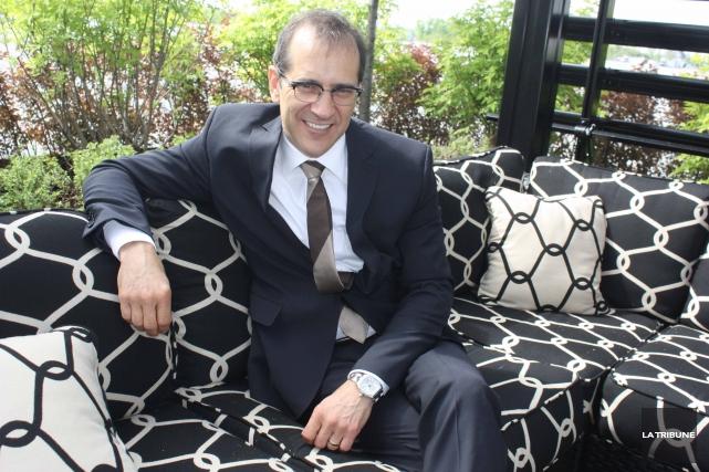 Le directeur général de Soprema Richard Voyer a... (Archives La Tribune)