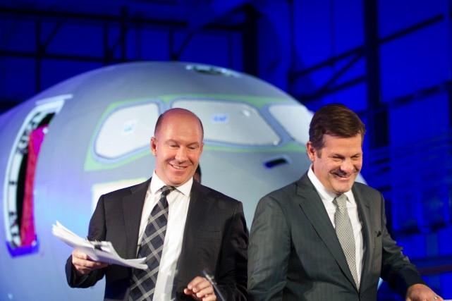 Alain Bellemare, président et chef de la direction... (photo ivanoh demers, la presse)