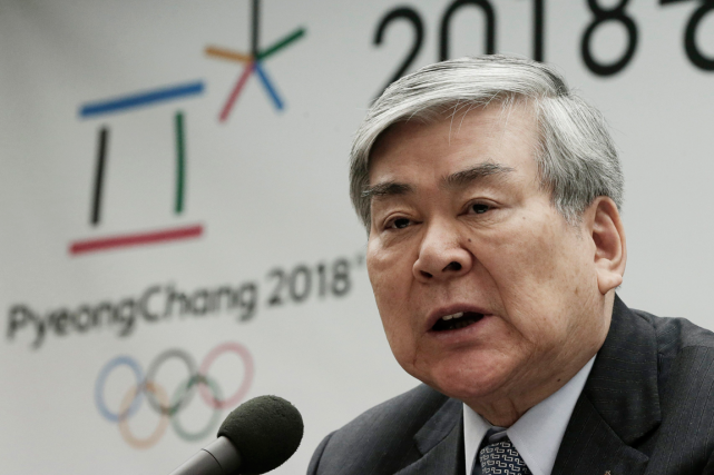Le président du comité d'organisation des Jeux olympiques... (Photo Ahn Young-joon, archives AP)