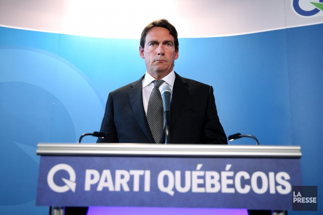 Pierre Karl Péladeau... (Photo La Presse)