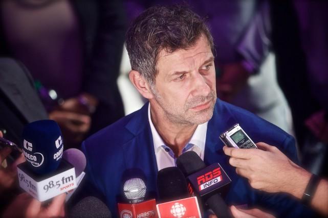 Marc Bergevin éprouve un profond attachement pour le... (Photo André Pichette, La Presse)