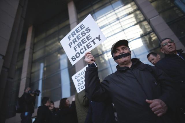 Depuis le début, en mars, du procès du... (PHOTO EMRAH GUREL, AP)