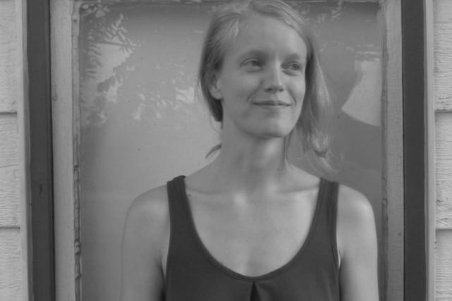 La poète Rosalie Lessard a reçu le37eprix Émile-Nelligan.... (PHOTO JEAN DURRELS, FOURNIE PAR L'ARTISTE)