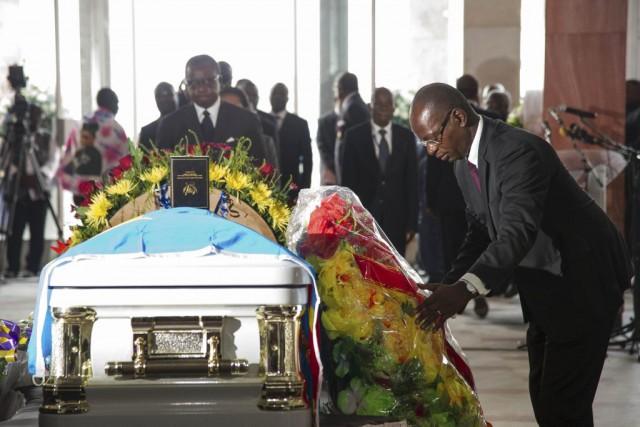 Alain Akouala Atipault, ministre congolais de la Culture,... (PHOTO AFP)