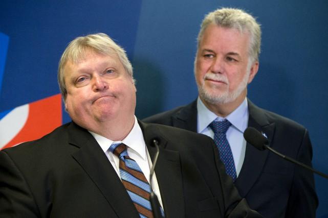 «Le ministre Barrette et le gouvernement Couillard se... (PHOTO ROBERT SKINNER, ARCHIVES LA PRESSE)