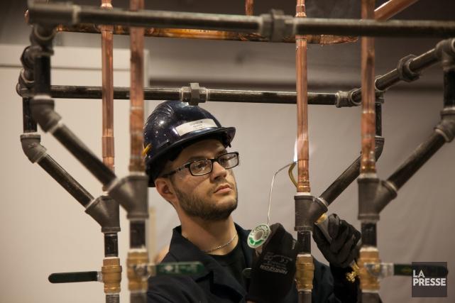 Les pénuries dans plusieurs secteurs d'emploi ainsi que... (Photo fournie par Compétences Québec)