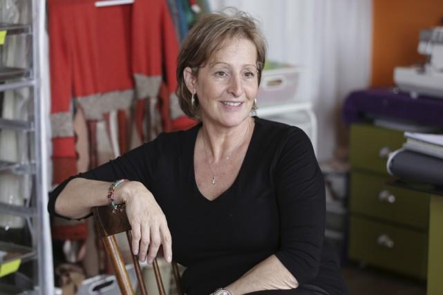 Christiane Fortin est artiste peintre et elle confectionne... (Photos Catherine Trudeau)