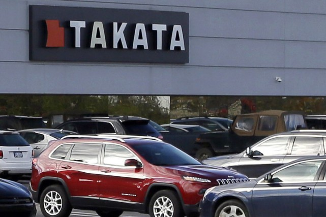 Takata avait déjà procédé au rappel de 28... (PHOTO CARLOS OSORIO, ARCHIVES ASSOCIATED PRESS)