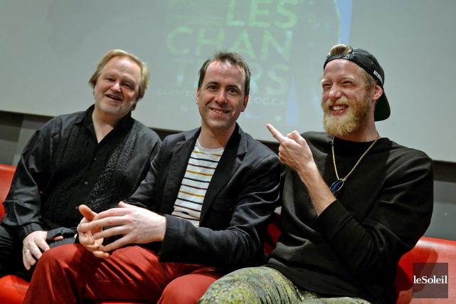 Kevin McCoy, Jean-Philippe Joubert et Maxime Robin lèveront... (Le Soleil, Erick Labbé)
