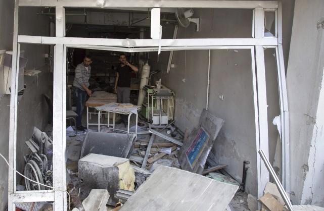 Plus de 50 personnes ont été tuées mercredi... (AFP, Karam Al-Masri)
