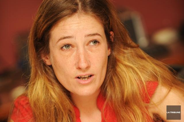 Mélissa St-Cyr-Morin, intervenante en santé mentale à La... (Archives La Tribune)