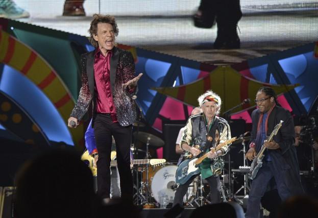 Les Rolling Stones sontau nombre des légendes qui... (AFP, Yamil Lage)