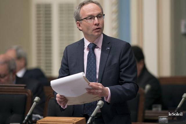 Le ministre de la Sécurité publique, Martin Coiteux,... (Photothèque Le Soleil)