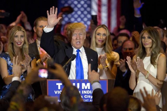 Moins d'un an après son entrée en campagne,... (PHOTO MARY ALTAFFER, AP)