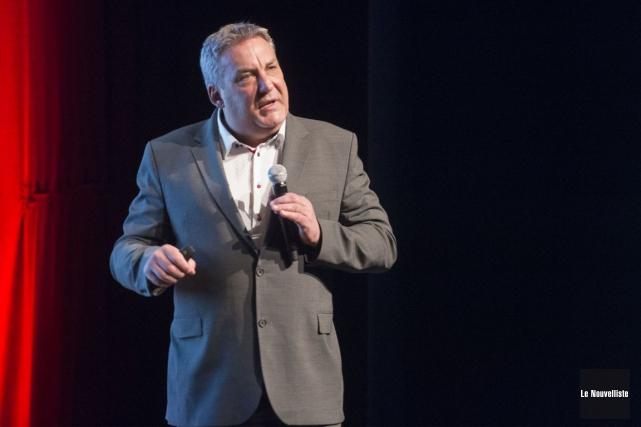 Le directeur général d'IDE Trois-Rivières, Mario De Tilly.... (Stéphane Lessard, Le Nouvelliste)