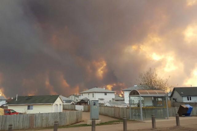 Vous vous trouvez en ce moment à Fort McMurray ou bien vous avez été évacués?... (PHOTO PC)