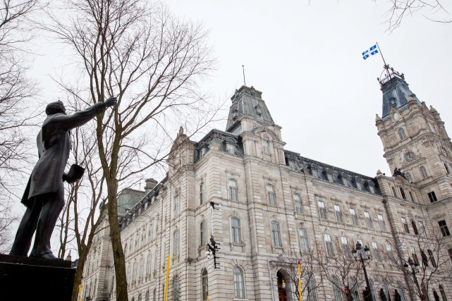 Le gouvernement du Québec a atteint 31% de... (Photo Ivanoh Demers, Archives La Presse)