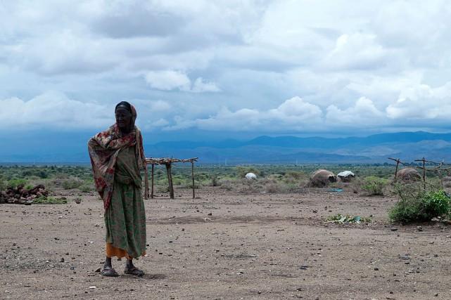 Toute la province de Sitti, dans l'est du... (PHOTO VINCENT DEFAIT, AFP)